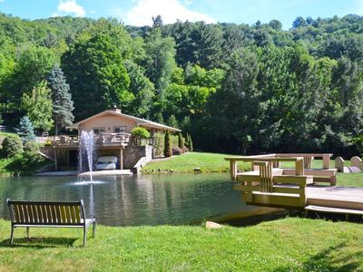 Photo for BIG VIEWS, PRIVATE, EASY ACCESS, PET FRIENDLY, CENTRAL TO ALL WNC ACTIVITIES