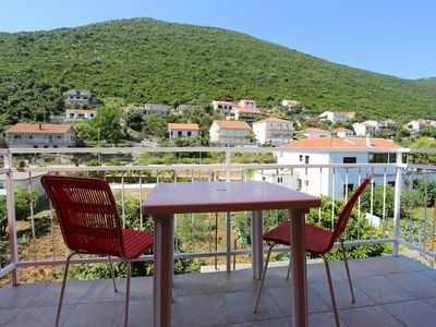 Photo for Three bedroom apartment with balcony Trpanj, Pelješac (A-10148-a)