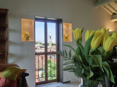 Photo for Stunning Attic Apartment In The Centre Of Padua.