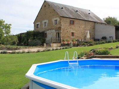 Photo for Rural Cottage, Southern Loire Valley, Peaceful, Stunning Views with Pool & WiFI