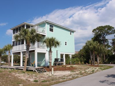 Photo for Booking Spring/\Summer Barrier Dunes 3BD/3BA Dog Friendly/beach chairs/cart