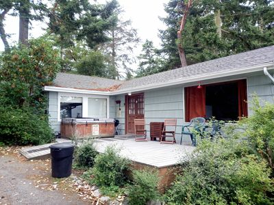 Photo for Waterfront, rustic cottage for a perfect Whidbey getaway (172)