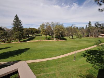 "Photo for ""The Getaway"" Gorgeous Golf Course View! 1 Small Dog Ok Sleeps10 Near Yosemite"
