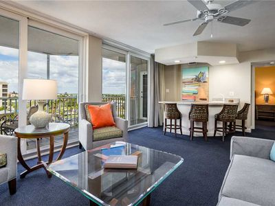 Photo for Gullwing 602,  Sleeps 8, 3 Bedrooms, Gulf Front, Elevator, Heated Pool