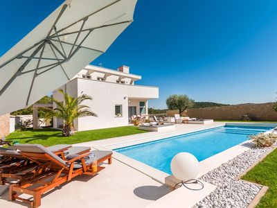 Photo for Modern Villa White, in Istria, with a Pool