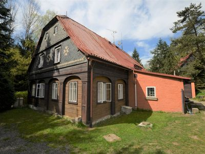 Photo for Detached holiday home with 5 bedrooms and billiards in northern Bohemia