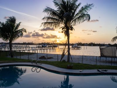 Photo for Waterfront , Paradise Luxury Intracoastal Home with Private Pool, East Lantana.
