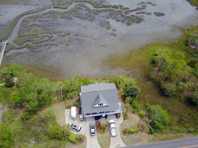 Photo for Just Us - Endless Marsh Views from Each Bedroom & Easy Beach Access