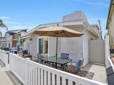 Photo for BEST LOCATION in NEWPORT Steps to the Sand Beach House on Balboa Peninsula