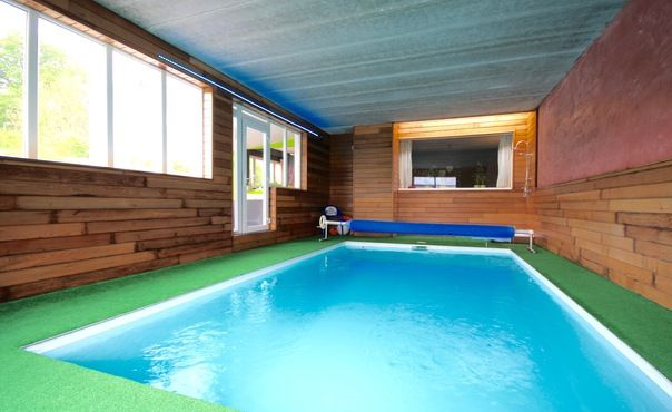 Large Holiday House With Indoor Swimming Pool And Sauna In The Heart Of The Ardennes La Gleize