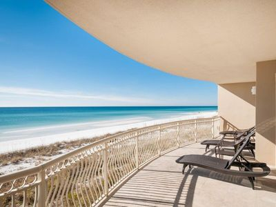 Photo for Stunning Beach Front Spacious Condo!  FREE Parasailing!