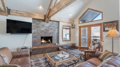 Photo for Ski-in & Ski-out 3  Bedroom in Mountain Village Core