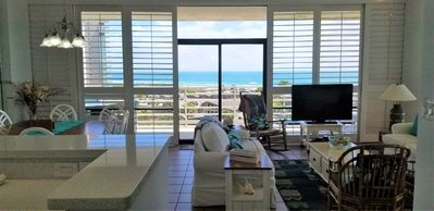 Beach Views, Cool Breeze Relax and Enjoy 3 BR Beachfront Condo!