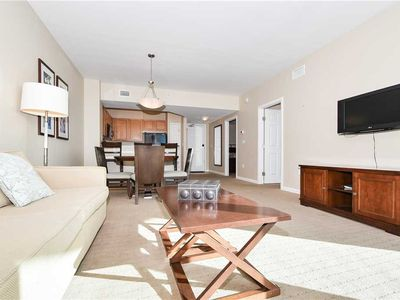 Photo for Condo featuring a PRIVATE BALCONY, community LAGOON POOL, and nearby BEACHES! ☀�