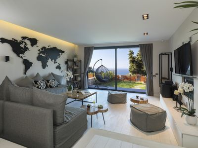 Photo for Horizon Villa (Breathtaking luxury villa in Rhodes town)