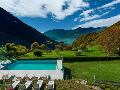 Photo for Cozy Chalet at Marone Lake Lombardy with Pool