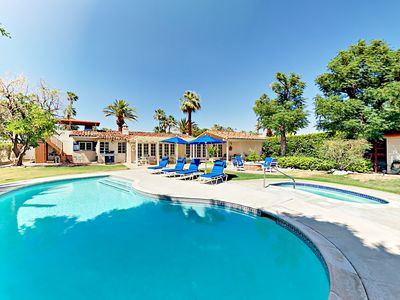 Photo for Backyard Paradise in Movie Colony East! Luxe 3BR w/ Pool, Hot Tub & Fire Pit