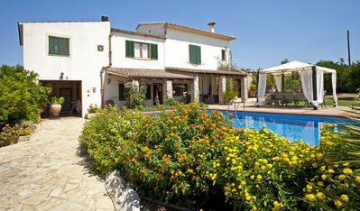 Photo for Beautiful orange villa in Muro, Beautiful villa among orange trees