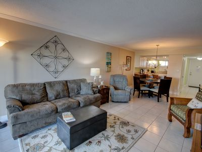 Photo for Beautiful Condo w/Patio, Sauna, Pool, Tennis, Private Beach Access, & More!