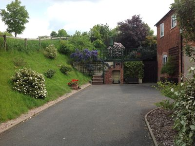 Photo for The ideal base for touring. Secluded rural setting on the edge of Shrewsbury!