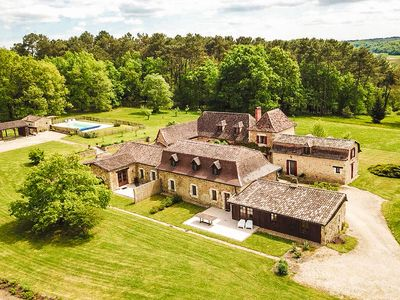 Photo for Semi-detached home on a romantic, rustic property with private swimming pool.