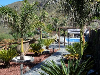Photo for Superb finca with pool, sea view, Treehouse, BBQ, free WIFI