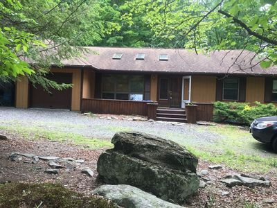 Photo for Cul-De-Sac Ranch House with Great Energy near many lakes, trees galore