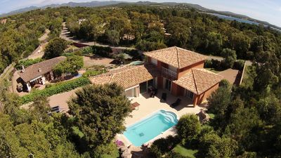 Photo for Villa 500 m from the sea Gulf of Porto vecchio, air conditioned, swimming pool; absolutely calm.