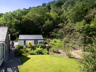 Photo for LITTLE PANDY COTTAGE, with a garden in Afonwen, Ref 948943