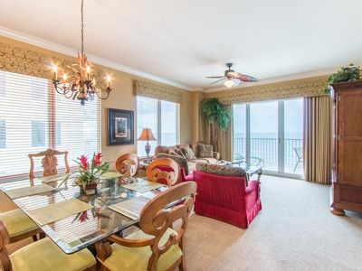 Photo for Corner unit, beautiful beach location - managed by owner