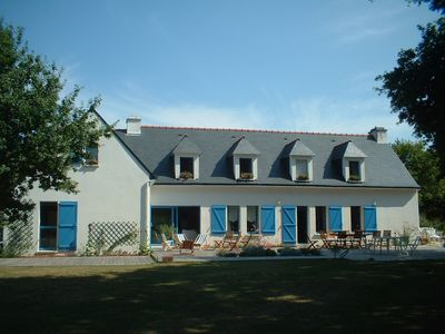 Photo for On the Ria of Etel comfortable and quiet, ideal for visiting the Gulf of Morbihan