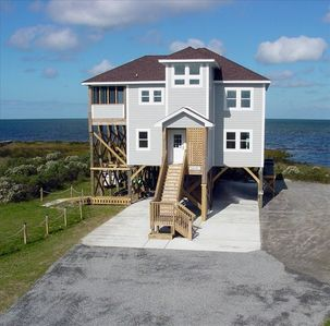 Cape Hatteras Rental Home, Sound Front in Frisco on the Outer Banks, NC