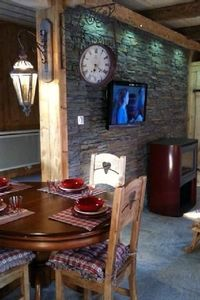 Photo for Holiday rental in a chalet with mountain style decoration