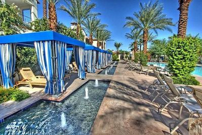 Complimentary Cabanas by Main Pool (12 Total Pools at the resort) Free Wifi