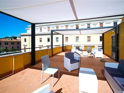 Photo for WHOLE BUILDING WITH MAGNIFICENT TERRACE - IDEAL FOR 21 PEOPLE