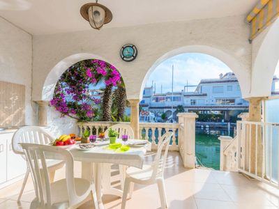 Photo for Vacation home Port Rhodes 82  in Empuriabrava, Costa Brava - 5 persons, 3 bedrooms