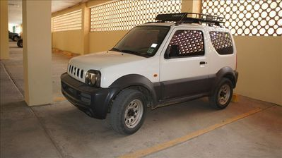 Rental package option to include 4 wheel drive Suzuki Jimny SUV, inquire for $$.