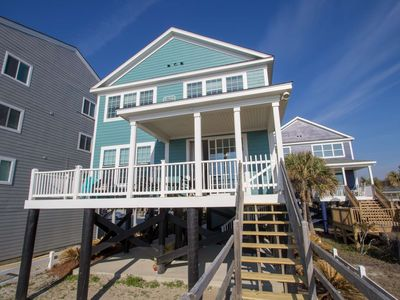 Photo for E Sea Livin' Freshly Redecorated Oceanfront Home!