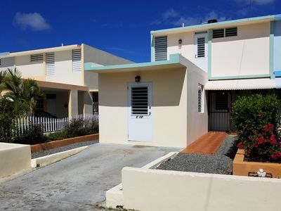 Photo for Best  swimming beach 300 feet away!  -  First Floor Master, Modern 4 Bedroom 3