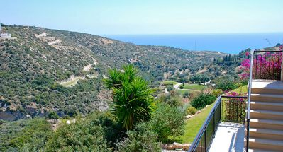 Photo for Lovely 2 bedroom apartment 'U3' - with beautiful ravine and sea views, communal pool and resort facilities, Adonis Village on Aphrodite Hills