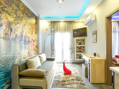 Photo for Green Alkyone -*5 star* accomodation,super central - private PARKING