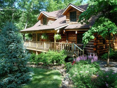 Photo for Real Log Cabin - Engleman Spruce - the Refuge at Tall Pines