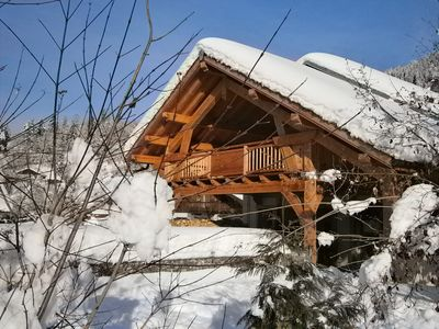 Photo for Luxury chalet, in the heart of Samoëns, for 6/8 people, 5-star ranked