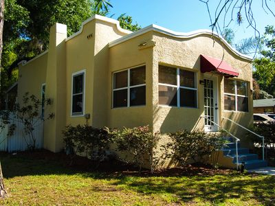 Photo for 30 day min retreat  - a 1922 Spanish bungalow  - short walk  to village & events