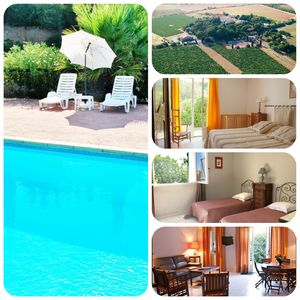 Photo for Charming Villas with Swimming pool in the heart of Languedoc / Occitanie