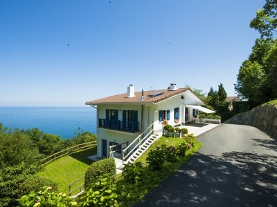 Photo for BEAUTIFUL BASQUE HOUSE WITH MAGNIFICENT VIEWS.