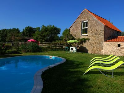 Photo for Lovely holiday cottage only 2 miles from Nantes