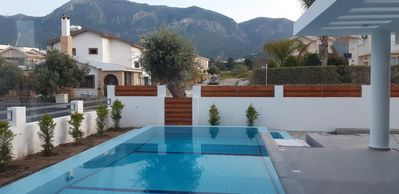 Photo for Villa Falcon, in town with village setting, top floor terrace with panoramic vie