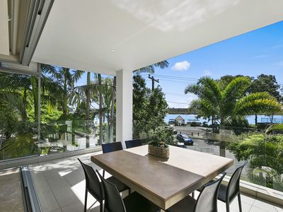Photo for Stunning Riverfront Apartment in Noosaville - Unit 2 Wai Cocos 215 Gympie Terrace