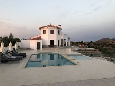 Photo for Beautiful Modern Spanish Villa with Pool and Stunning Views